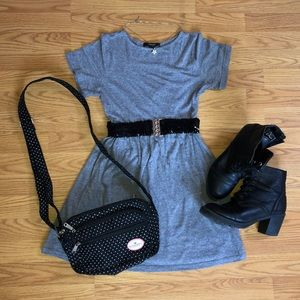 Heather Gray Skater Dress